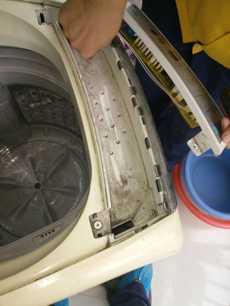 波轮洗衣机清洗