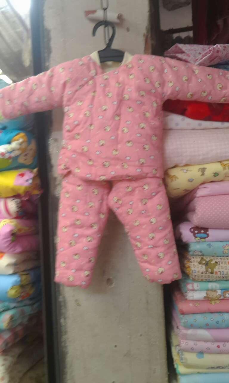 纯手工婴儿棉袄棉裤